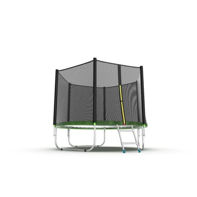 Батут EVO Jump External 6ft (Green) с внешней сеткой и лестницей, диаметр 6ft (зеленый) (фото, вид 2)