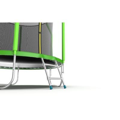 Батут EVO Jump Cosmo 6ft (Green) с внутренней сеткой и лестницей (фото, вид 4)