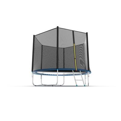 Батут EVO JUMP External 10ft (Blue) с внешней сеткой и лестницей (фото, вид 3)