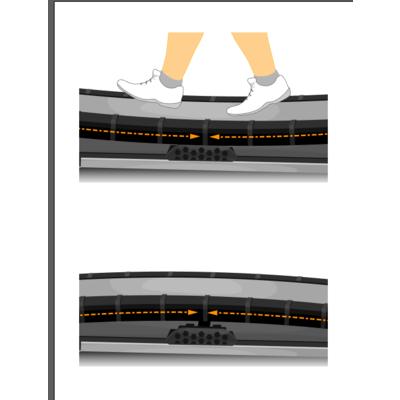 Беговая дорожка PROXIMA FLEKSA мягкая (фото, вид 2)