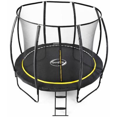 Батут Sport Elite 12FT 3,66м с защитной сеткой (внутрь) с лестницей CFR-12FT-4 (фото, вид 1)