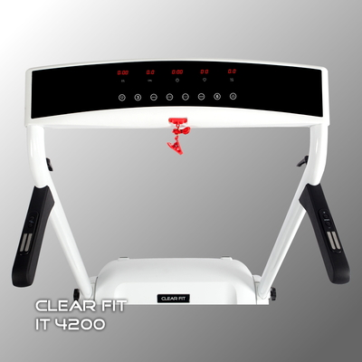 Беговая дорожка Clear Fit Impetus IT 4200 (фото, вид 1)