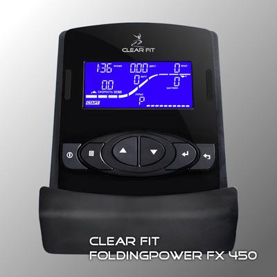 Эллиптический тренажер Clear Fit FoldingPower FX 450 (фото, вид 2)