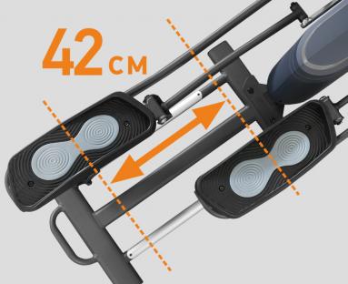 Эллиптический тренажер APPLEGATE X23 M (фото, вид 4)
