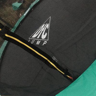 Батут DFC JUMP 10ft складной, c сеткой, цвет green (фото, вид 7)