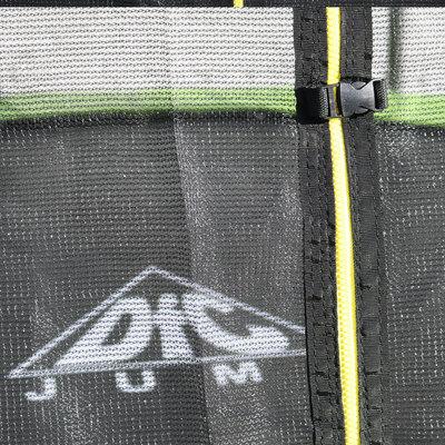 Батут DFC JUMP 10ft складной, c сеткой, цвет green (фото, вид 8)