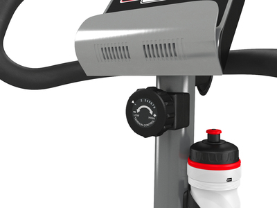 Велотренажер UNIXFIT BL-350 Silver (фото, вид 8)