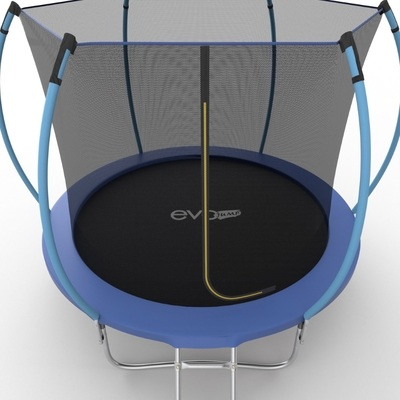 Батут EVO JUMP Internal 8ft (Blue) с внутренней сеткой и лестницей (фото, вид 4)