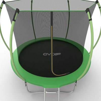 Батут EVO JUMP Internal 8ft (Green) с внутренней сеткой и лестницей, диаметр 8ft (зеленый) (фото, вид 4)