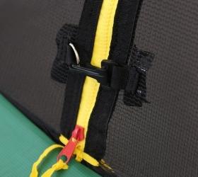 Батут Oxygen Fitness Premium 10 ft inside (Dark green) (фото, вид 6)