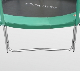 Батут Oxygen Fitness Premium 10 ft inside (Dark green) (фото, вид 7)