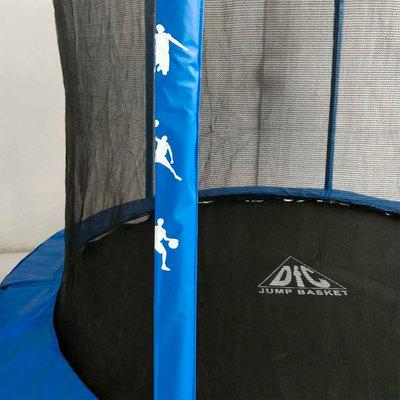 Батут DFC JUMP BASKET с сеткой 8FT-JBSK-B (фото, вид 3)