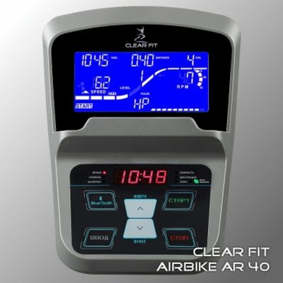 Велотренажер Clear Fit AirBike AR 40 (фото, вид 2)