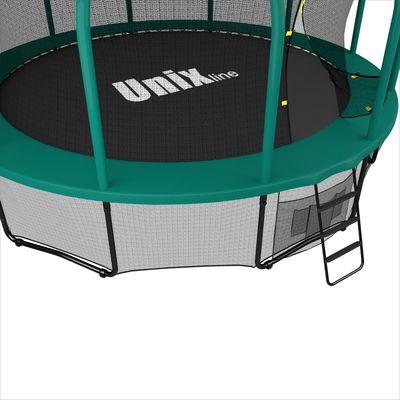 Батут UNIX line 16 ft SUPREME (green) (фото, вид 2)