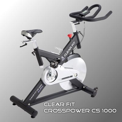 Велотренажер Clear Fit CrossPower CS 1000 Спин-байк (фото)