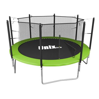 Батут UNIX line Simple 12 ft Green (inside) (фото)