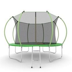 Батут EVO JUMP Internal 12ft (Green) с внутренней сеткой и лестницей