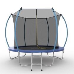 Батут EVO JUMP Internal 8ft (Blue) с внутренней сеткой и лестницей