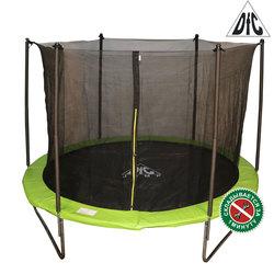 Батут DFC JUMP 8ft складной, c сеткой, цвет apple green