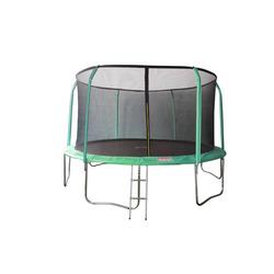 Батут 14FT 4,27м SportElite фиберглас с защитной сеткой внутрь и лестницей GB102011-14FT