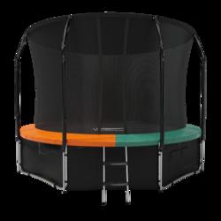 Батут Eclipse с защитной сеткой Space Green/Orange 16FT
