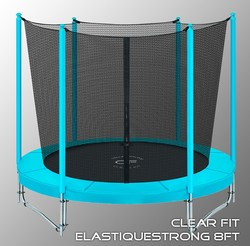 Батут Clear Fit ElastiqueStrong 8ft