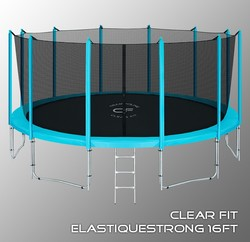 Батут Clear Fit ElastiqueStrong 16ft