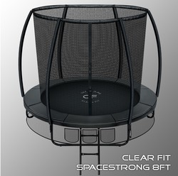 Батут Clear Fit SpaceStrong 8ft