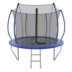 Батут складной EVO JUMP Internal 8ft (Blue) с внутренней сеткой и лестницей