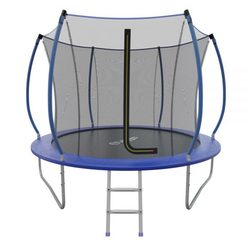 Батут складной EVO JUMP Internal 10ft (Blue) с внутренней сеткой и лестницей