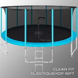 Батут Clear Fit ElastiqueHop 16Ft