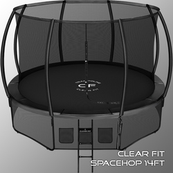 Батут Clear Fit SpaceHop 14Ft