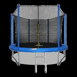 Батут ARLAND 10FT с внутренней страховочной сеткой и лестницей синий