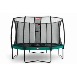 Батут с сеткой BERG Elite+ (зеленый) 330