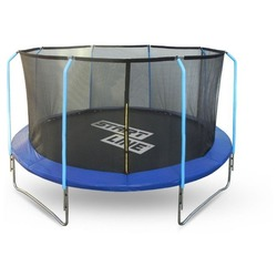 Каркасный батут Start Line Fitness 12FT с внутренней сеткой и лестницей