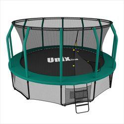 Батут UNIX line 12 ft SUPREME (green)