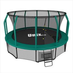 Батут UNIX line 14 ft SUPREME (green)